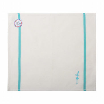 serviette de table menthe