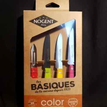 Coffret 4 couteaux Les Basiques