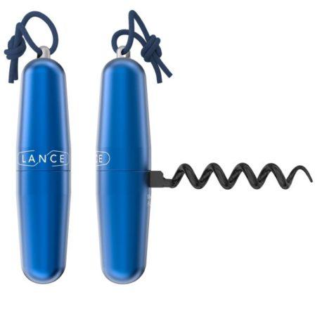 Tire-bouchon Lance Bleu